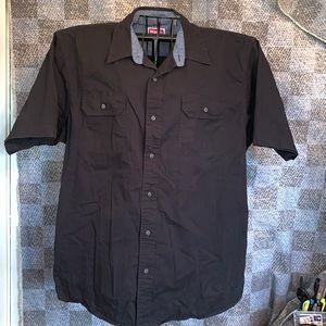 Wrangler button down XL men's work shirt